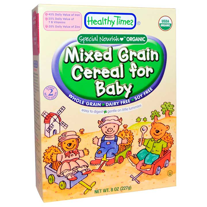 Organic Mixed Grain Cereal For Baby