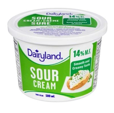 Dairyland-Sour-Cream-mf-14-percent-500-ml-whistler-grocery-service-delivery-premium-quality