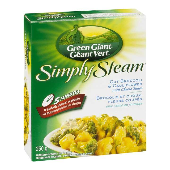 Green Giant Simply Steam Frozen Cut Broccoli & Cauliflower