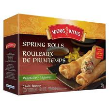 Wong Wing Spring Rolls - Vegetable 6's