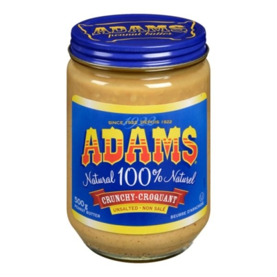 Adams-unsalted-Creamy-Peanut-Butter-whistler-grocery-service-delivery