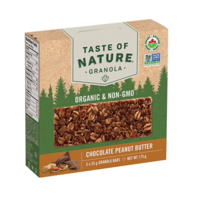 taste-of-nature granola-bar-chocolate-peanut-butter-whistler-grocery-service-delivery