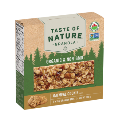 taste-of-nature granola-bar-oatmeal-cookie-whistler-grocery-service-delivery