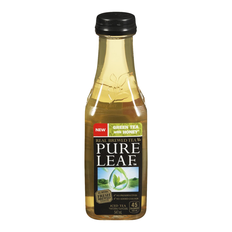 Pure Leaf Honey Green Tea Real Brewed Tea, 16.9 fl oz, 6